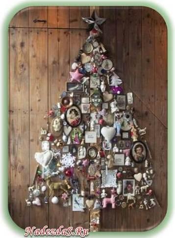 елка из мелочевки